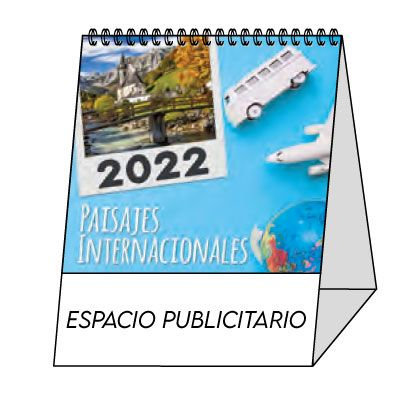 Calendario 2022 sobremesa mini