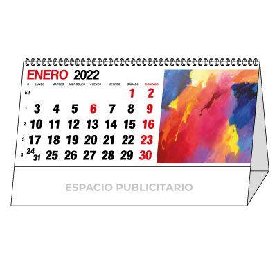 calendario personalizado 2022 de sobremesa