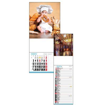 Calendario de nevera