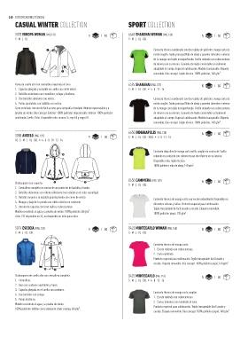 049547312 ... 5078 EUROPA WOMAN (PAG.131) 1 10 6648 SHANGHAI WOMAN (PAG.136) 5 50  S·M·L· XL S·M·L· XL · XXL Camiseta técnica combinada con dos tejidos de  poliéster ...